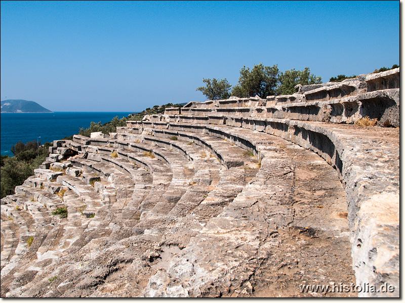 Die türkische Südküste in der Antike - Antiphellos in ...